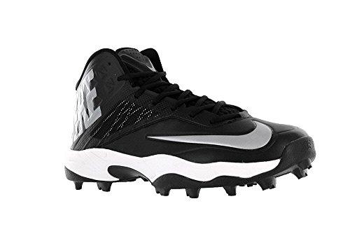Nike Men s Zoom Code Elite 3 4 Shark Black Metallic Silver US ... 833b2179ef