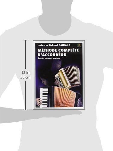Amazon Fr Méthode Complète D Accordéon Richard Galliano