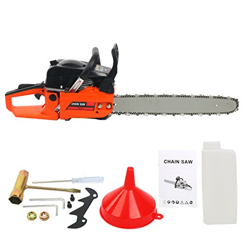 YaeTek 18-Inch 45cc 2 Stroke Gas Powered Chain Saw 18″