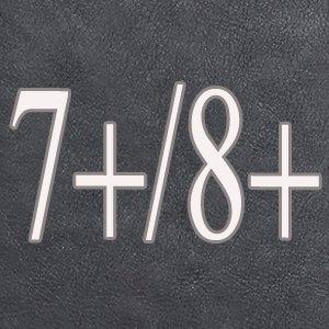 iPhone 7Plus/8Plus Women's Case,iPhone 7 Plus/8 Plus Wallet Case,Zipper Detachable Magnetic12 Card Slots Card Slots Money Pocket Clutch Cover Zipper Wallet Purse Case iPhone 7 Plus/8 Plus (Black) by TOPWOOZU (Image #1)