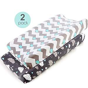 Amazon.com: Fundas de almohada de lactancia elásticas, 2 ...