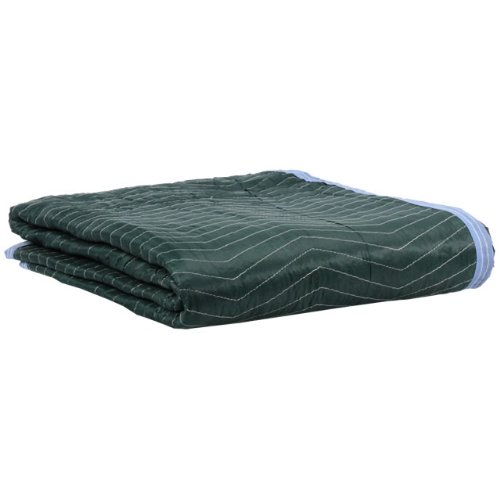 Moving Blanket (12-pack) 72'' X 80'' US Cargo Control - Multi Mover (75 Lbs/dozen, Green/Light Blue)