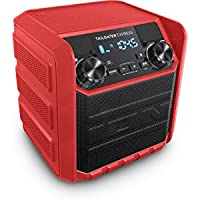 Ion Audio Tailgater Express Red Compact Wireless Portable Speaker System