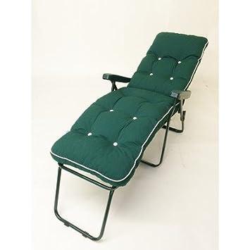 Coussin Chaise Pliable Soleil Longue Pied Fixe Avec Milan Inclinable lcFK1TJ