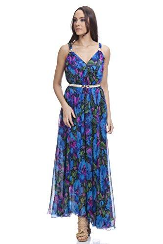 Tantra Dress3077, Vestido de Oficina para Mujer, Azul, One Size (Tamaño del Fabricante:U)
