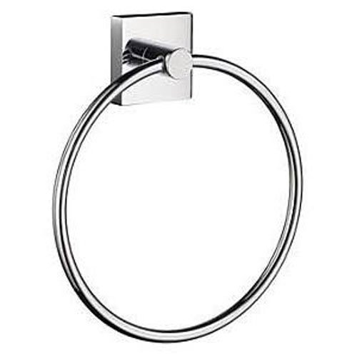 House Towel Ring in Polished Chrome Finish by Smedbo