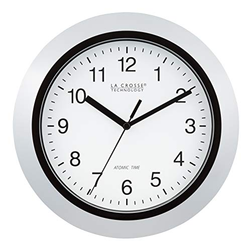 Lacrosse Clock Atomic Analog - La Crosse Technology Atomic Analog Wall Clock, 10