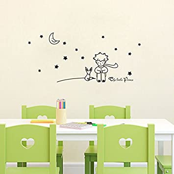 Amazon.Com: The Little Prince Wall Stickers Removable Vinyl Art