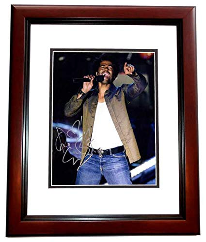 Eric Benet Signed - Autographed R&B Soul Singer 11x14 inch Photo MAHOGANY CUSTOM FRAME - Guaranteed to pass PSA or JSA from Real Deal Memorabilia