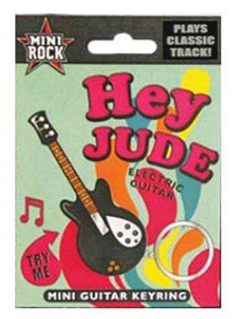 Musical de la guitarra eléctrica Llaveros-Plays Hey Jude: Amazon.es: Oficina y papelería