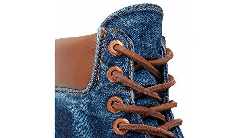 Timberland In Botas Heritage Clasicas Fabric Azul Adulto Blue Unisex B43 Denim 6 EE7WTrnxq