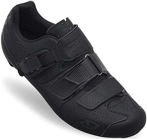Giro 2015 Men's Factor ACC HV Wide Road Bike Shoes (Matte Black/Gloss Black - 46.5)