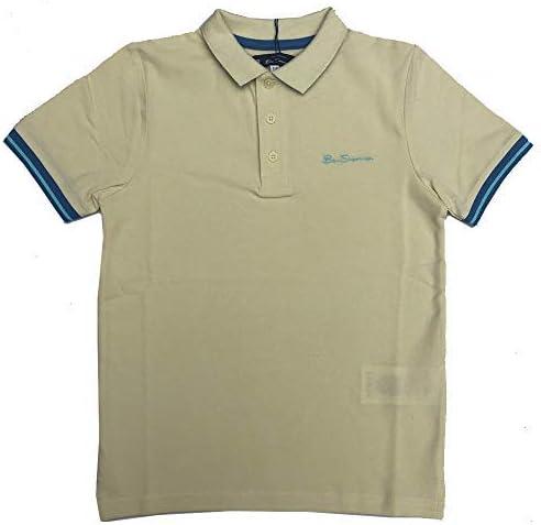 Ben Sherman Niños Polo Camiseta Vainilla Francesa Edad 7 Años ...