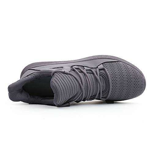 Shoes Mesh Trainers Running Breathable Women's Lightweight Men's nbsp;JESSI Gray Casual Sneakers MAIERNISI xqUvCwa0a