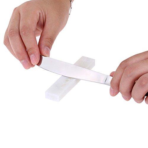 Xx Sharpener (White 10000 Grit Whetstone Knife Sharpening Stone Grindstone for Knives Knife Sharpener 100*20*10mm)