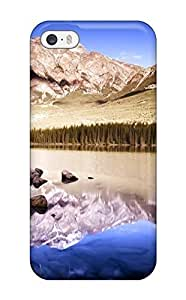 Ruby Diy case cover For Iphone 4/4s Strong Protect case sFRFDEpLNS9 cover - Reflective Mountains Diushoujuan Design