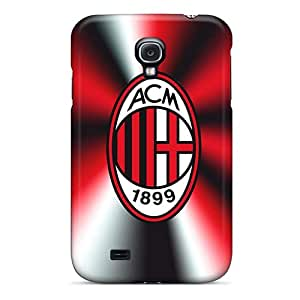 Best Cell-phone Hard Covers For Samsung Galaxy S4 With Support Your Personal Customized Beautiful Ac Milan 3 Skin JohnPrimeauMaurice