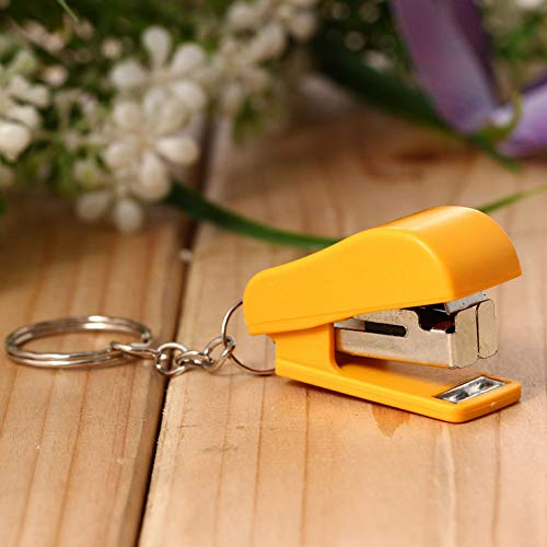 Portable Labor-Saving Mini Stapler Small Size Manual Stapler 1Pc (Random Color)