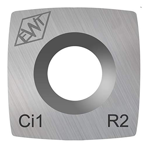 Authentic Easy Wood Tools Ci1-R2 Square Carbide Replacement Cutter with 2