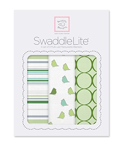 SwaddleDesigns SwaddleLite Jewel Tone Green