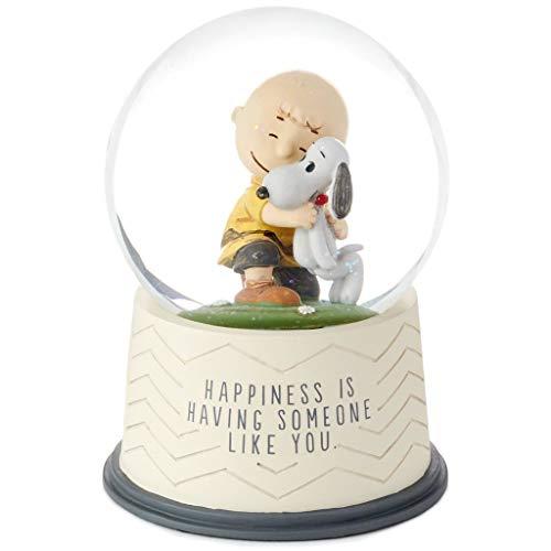 HMK Hallmark Peanuts Happiness is Someone Like You Snow -