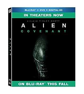 Alien: Covenant (BD + DVD + DHD) [Blu-ray]
