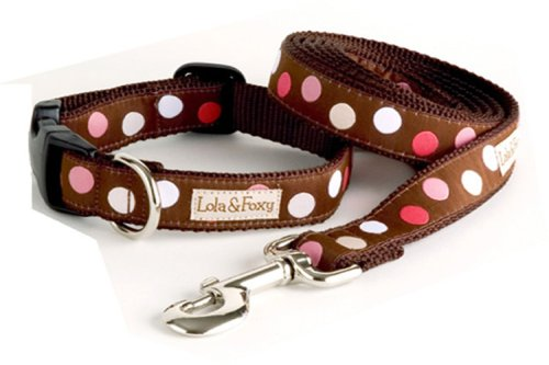 (Lola & Foxy Raspberry Truffle Dog Leash, 1