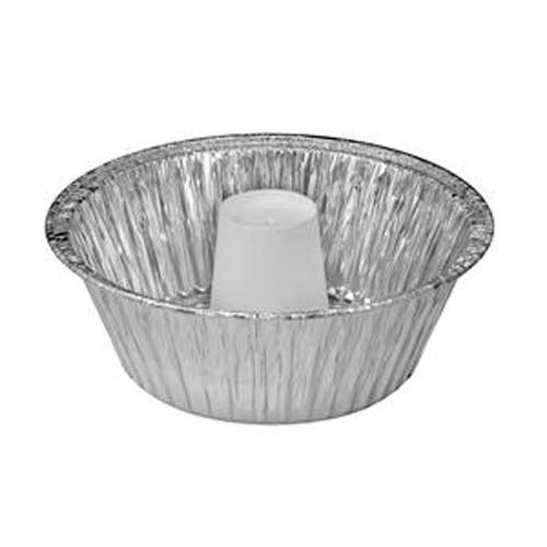 Handi Foil Angel Food Pan with Cup, 60 Fluid Ounce Capacity -- 250 per case.