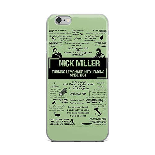 iPhone 6 Plus/6s Plus Pure Clear Case Cases Cover Nick Miller