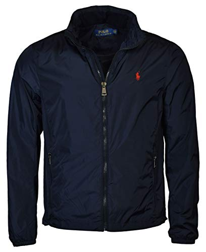 Polo Ralph Lauren Men's Nylon Hooded Windbreaker Jacket