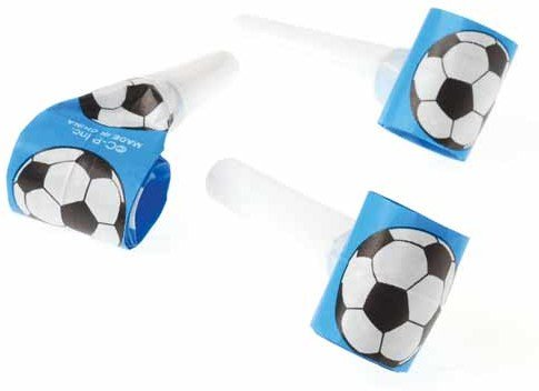 Football Noisemaker (Dozen Soccer Theme Blowouts Blowers)