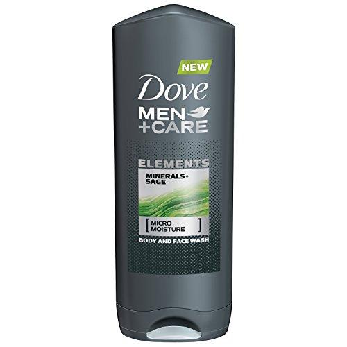 Lot of 4 Dove Men+Care Body & Face Wash Elements Minerals +