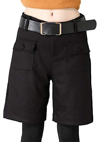 前提条件恐れるレッドデート(プライム セント) ゆったり ハーフ パンツ ひざ 丈 Aライン スカート 風 キュロット 短パン レディース ショート