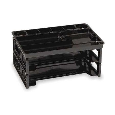 OFFICEMATE 22122, Tray, Letter, 2 Horiz., 9 Compartment Trays
