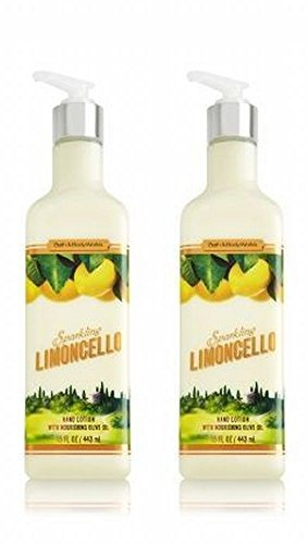 Bath and Body Works Sparkling Limoncello Luxury Hand Lotion 15 Ounce 2 Pack