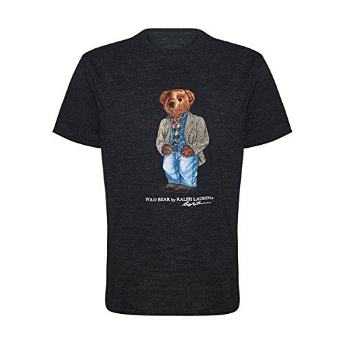 791294b7 Polo Ralph Lauren Mens Limited Polo Bear T-Shirt (X-Large, Black ...