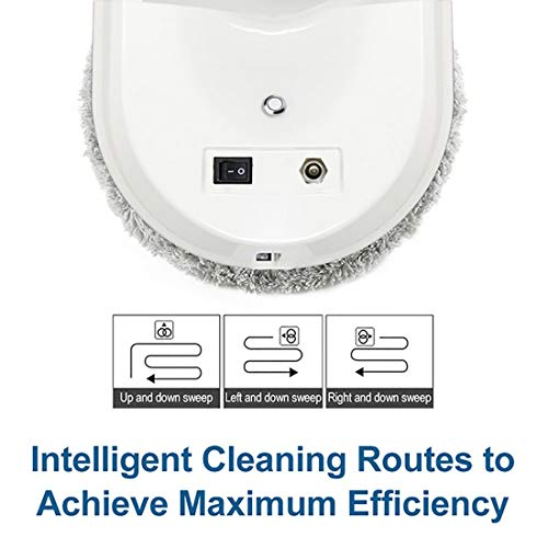 FENGRUI R-C901 Smart Window Cleaner Robot Automatic Infrared Remote Magnetic Cleaner For Inside And Outdoor High Floor Window Bathroom Kitchen Wall Glass Ceramic Tile (White) by FENGRUI (Image #5)