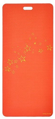 MERRITHEW Kids Yoga and Exercise Mat, Super Starbright (Red) 0.15 inch / 4 mm