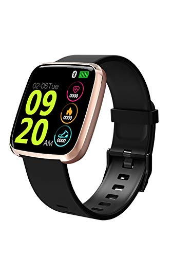 Loluka Sport Smart Watch Blood Pressure Monitor Activity Watch IP67 Waterproof Pedometer Bluetooth Phone Call Fitness Tracker for Android iOS