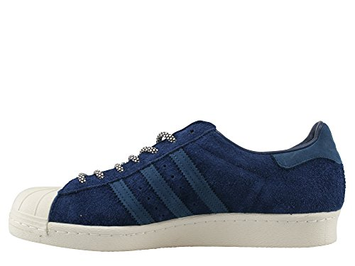 Adidas Originaler Menns Super 80s Trenere Kollegialt Us9 Blå