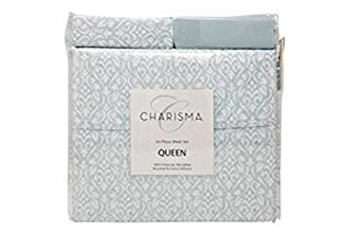 Charisma 6 Piece Set (Queen) String Damask