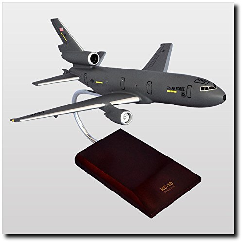 Planejunkie Aviation Desktop Model - Douglas Douglas KC-10A Extender Gray Model