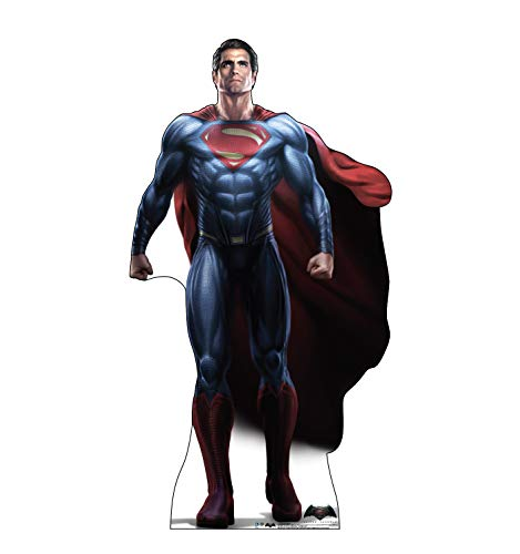 Advanced Graphics Superman Life Size Cardboard Cutout Standup - Batman V Superman: Dawn of Justice (2016) -