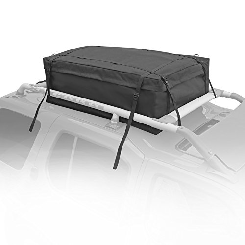 LT Sport RB-4233-224 Black Roof Cargo Bag, 1 Pack by LT Sport