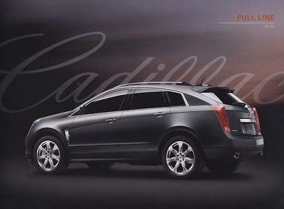 2010 Cadillac Full Line Car Auto Sales Brochure