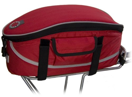 Banjo Brothers Rack Top Bag (Red)