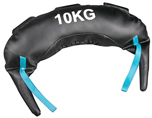 Softee Equipment Bulgaro Saco de Entrenamiento Funcional de Boxeo, Hombre, Blanco, S 24356.UNI_S