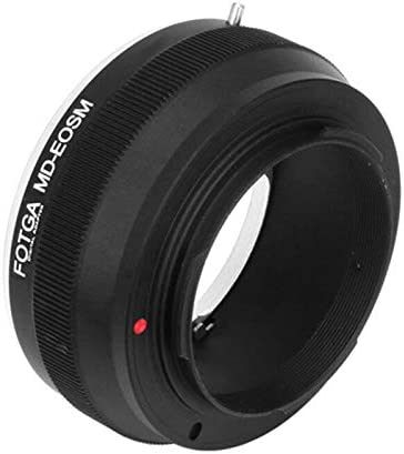 Fotga Adapter For Minolta Md Mount Lens To Canon Eos M Camera Photo