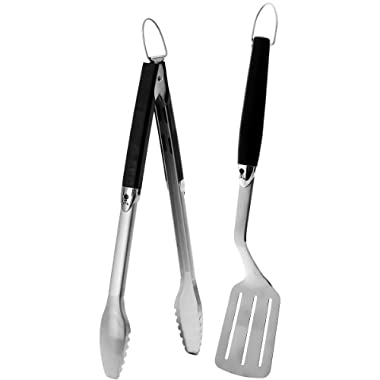 Weber 6625 Original 2-Piece Stainless Steel Tool Set