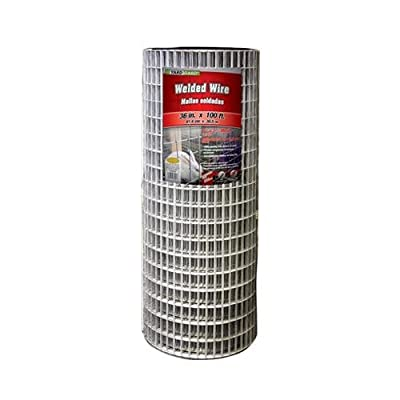 Midwest Air Tech/Import 309223A 36-In. x 100-Ft. Galvanized Welded Wire